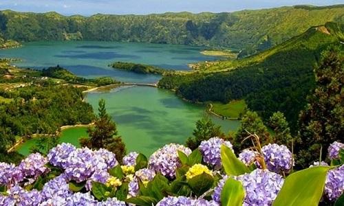 Lagoa das Sete Cidades em S. Miguel
