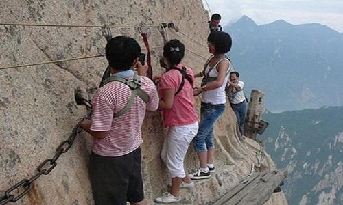 Trilha Monte Huashan