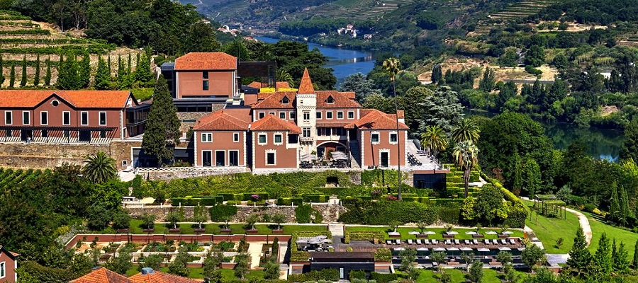 Six Senses em pleno Douro Valley