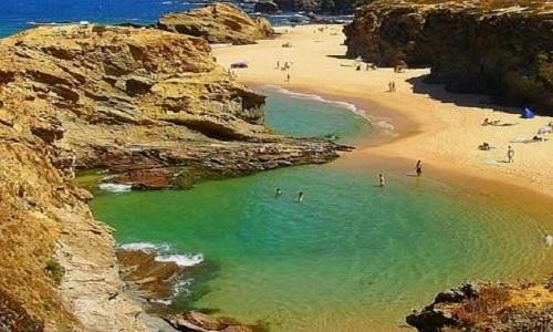Praia de Samoqueira Alentejo