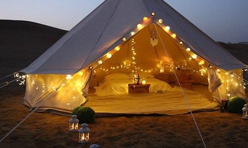 Os melhores Glampings para acampar com estilo