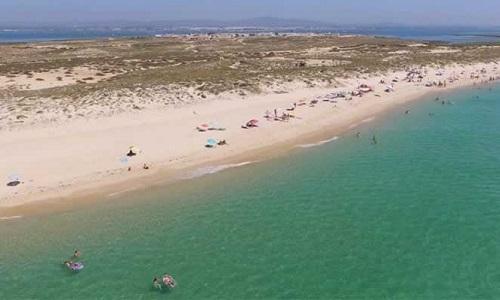 Praia da Ilha do Farol Culatra Algarve