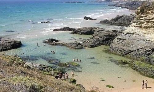 Praia do Banho em Porto Côvo