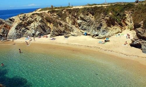 Praia do Buizinhos em Porto Covo