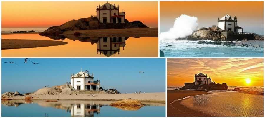 Praia de Miramar em Gaia